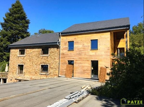 Extension maison à ossature bois