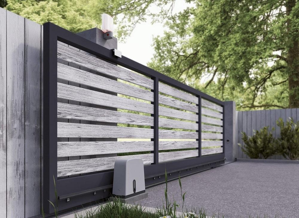 r aliser la fondation d un portail coulissant en 4 points. Black Bedroom Furniture Sets. Home Design Ideas