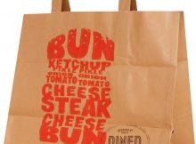 sac papier restaurant