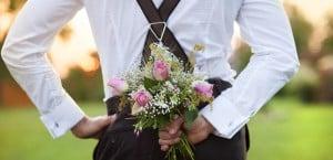Marié en bretelles