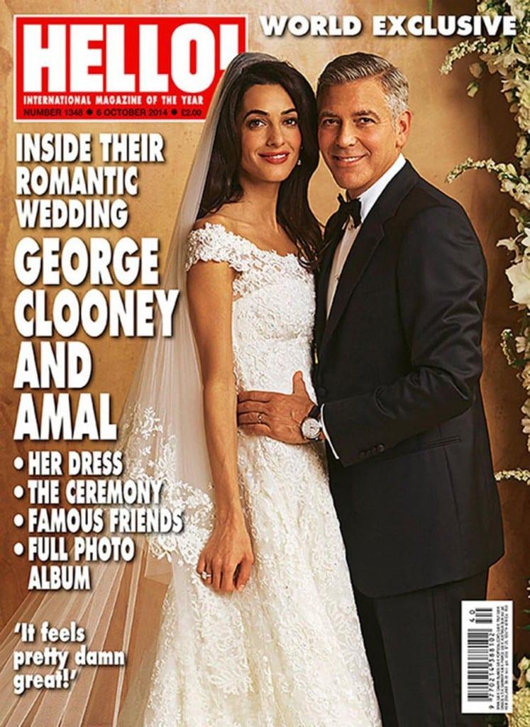 Le mariage vénitien de George Clooney et d'Amal Alamuddin