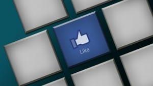 facebook-like-clavier