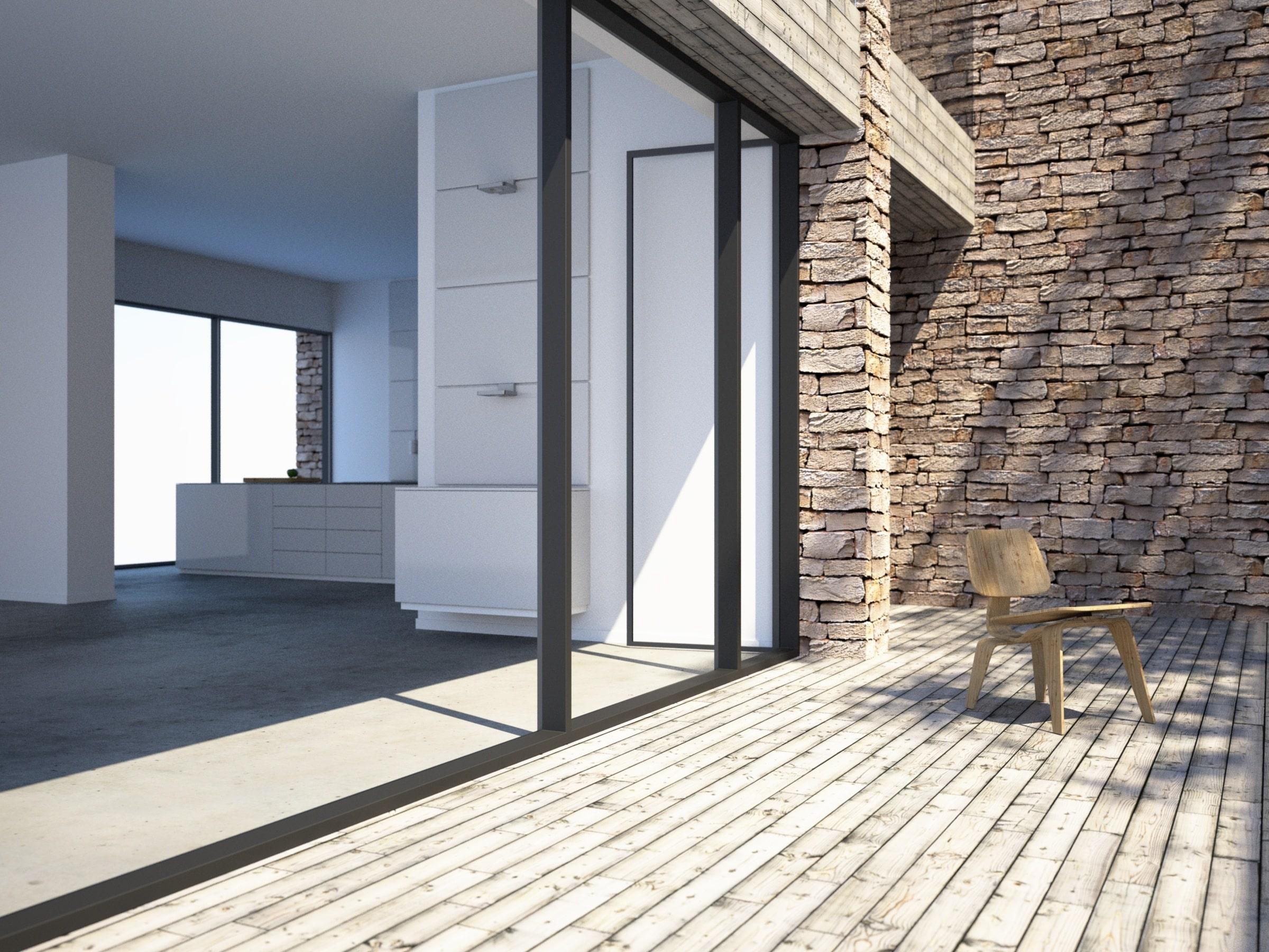 les avantages et inconv nients de l installation des baies vitr es c mon web. Black Bedroom Furniture Sets. Home Design Ideas