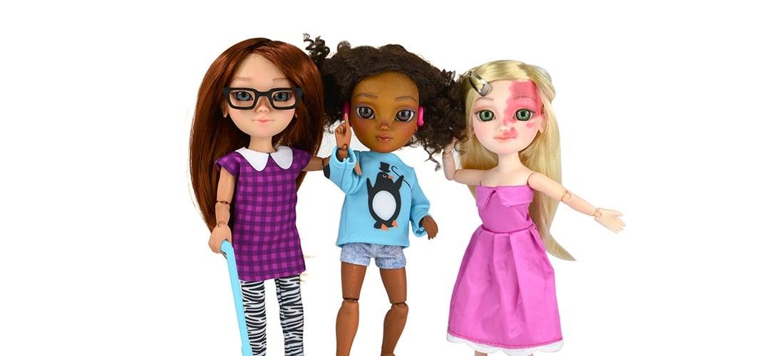 poupées handicapées
