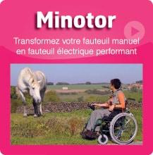 fauteuil roulant motorisé
