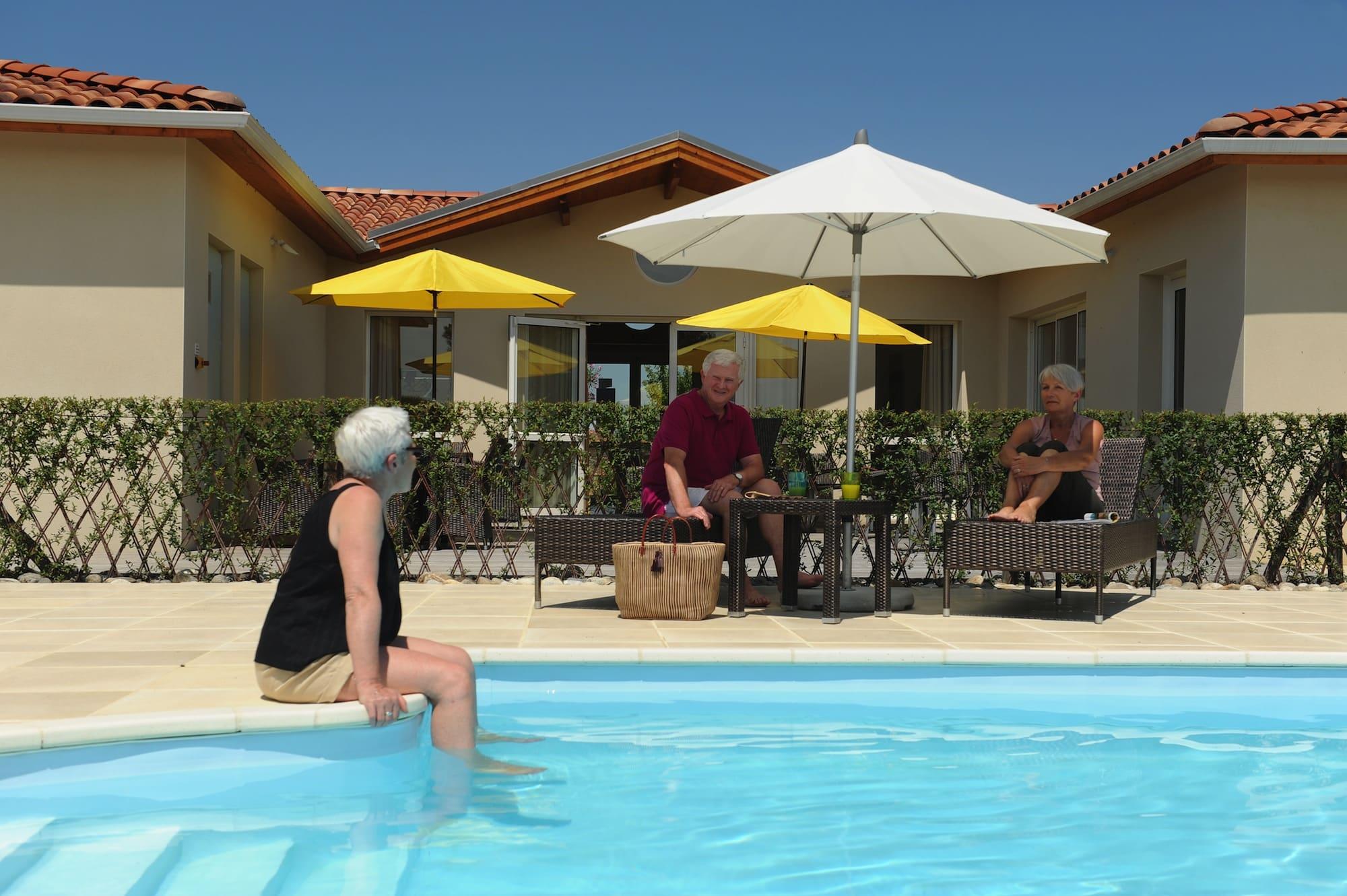 habitat senioriales piscine