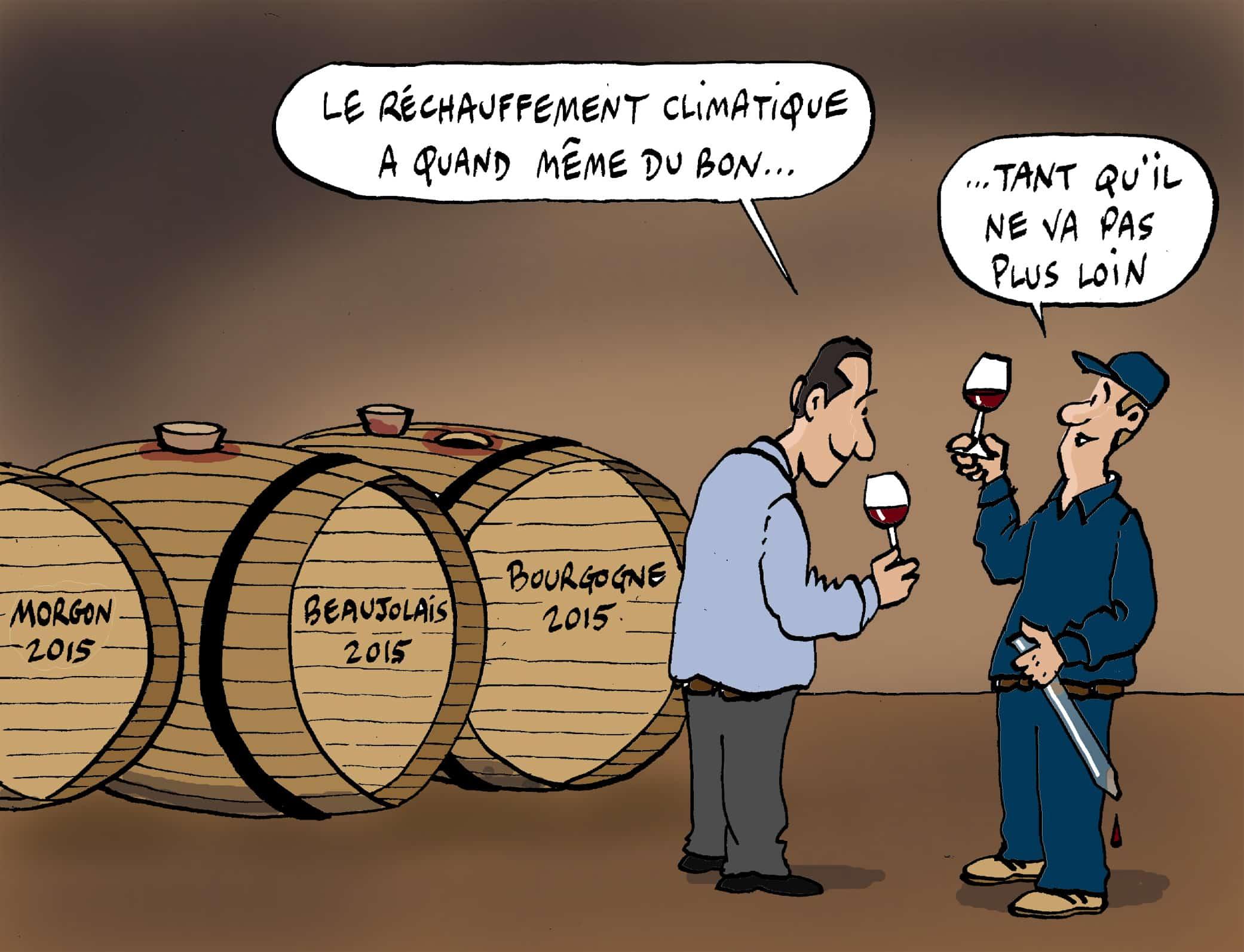 vins etonnants rechauffement climatique