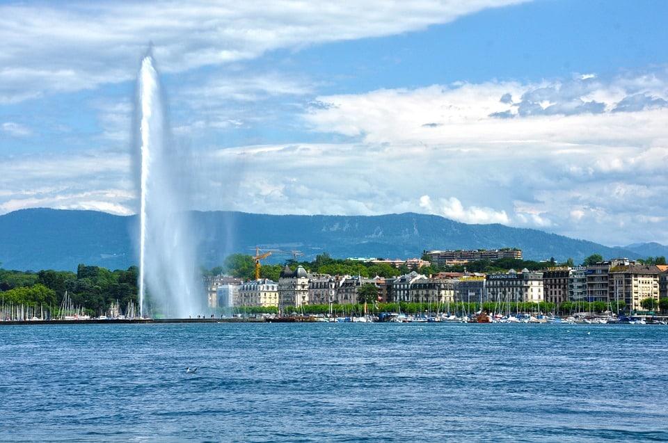 Genève - Jet d'eau