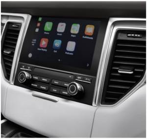 ecran accueil apple carplay