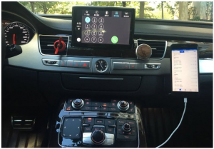 apple carplay et iphone avec cable lightning