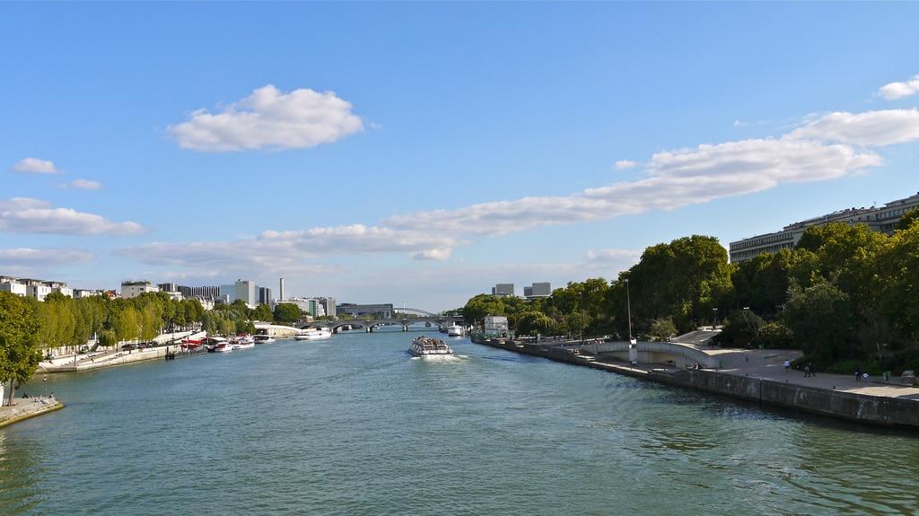 Le bord de Seine à Paris