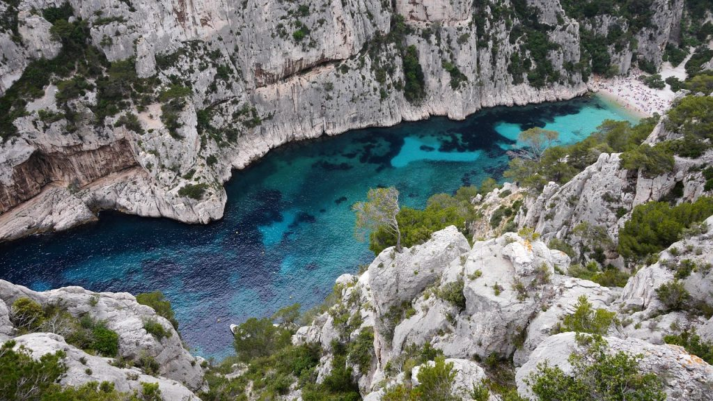 Des calanques du Sud de la France