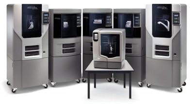 Parc d'imprimantes 3D Stratasys