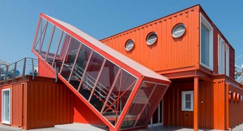 Une maison rapide et conomique optez pour le container for Construction maison rapide