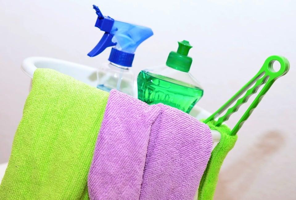 Le nettoyage industriel et son code couleur