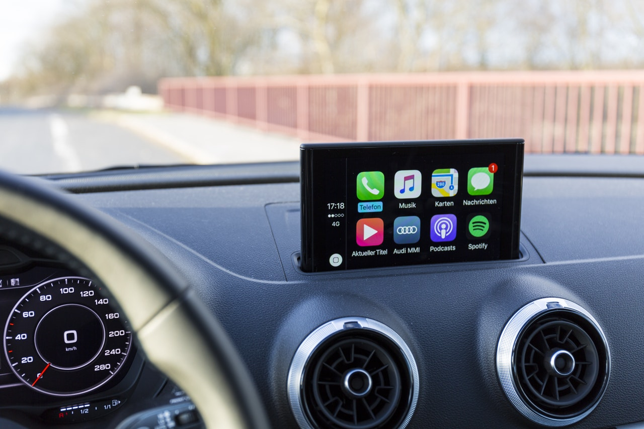 ecran autoradio apple carplay