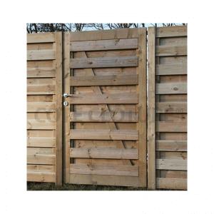 portillon de jardin en bois autoclave