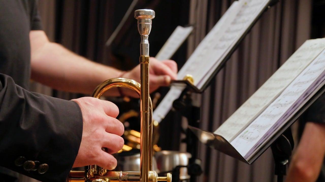pupitre pour trompettiste