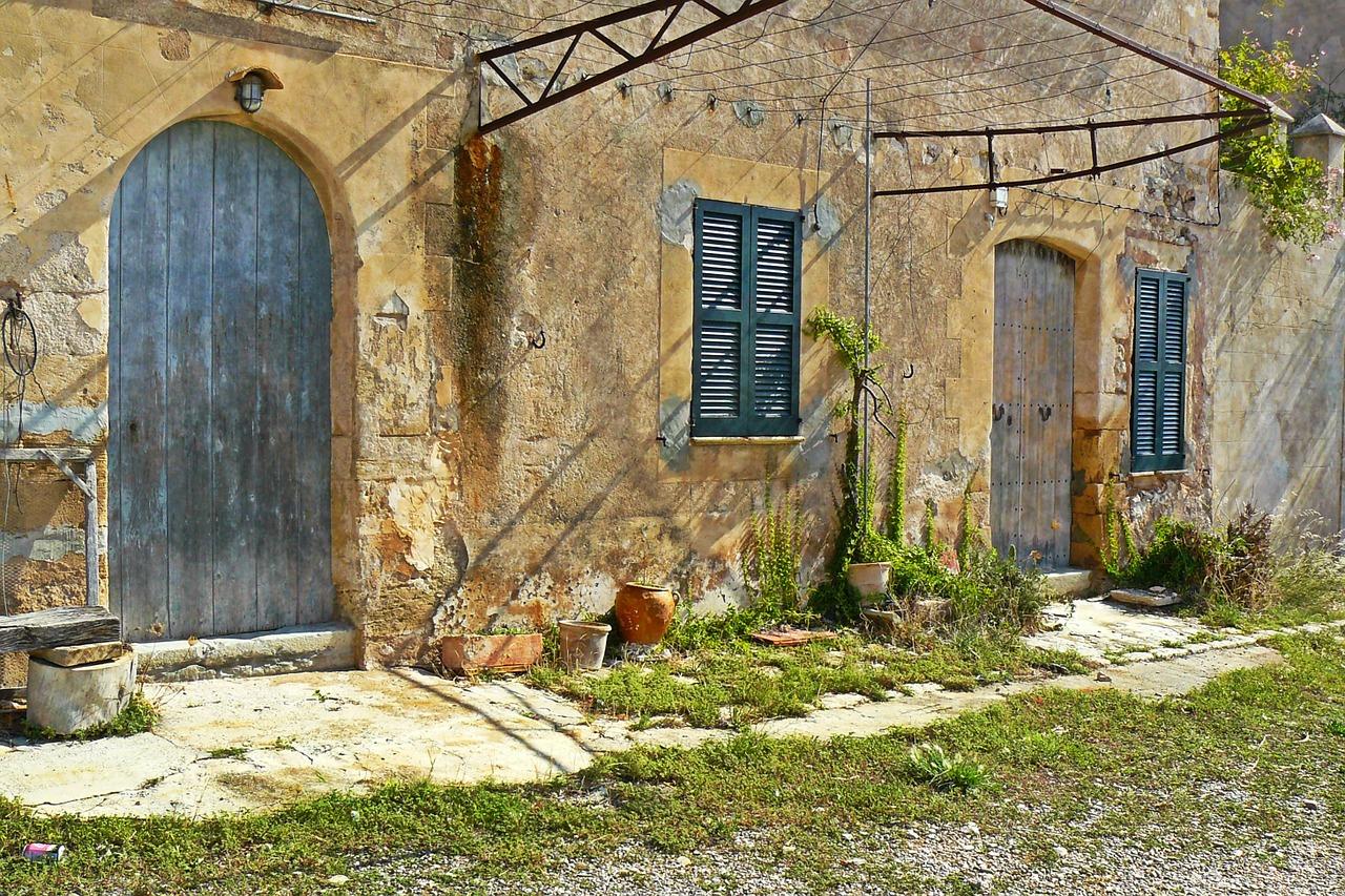 Une maison à rénover
